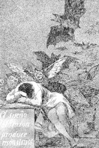 Caprichos--Plate-43--The-Sleep-Of-Reason-Produces-Monsters